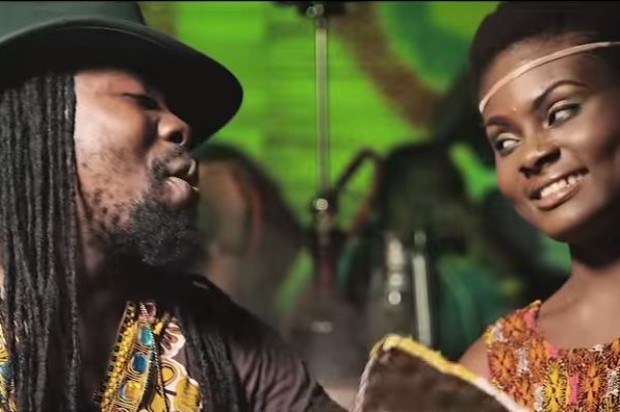 Obrafour with late Belinda on Pimpinaa