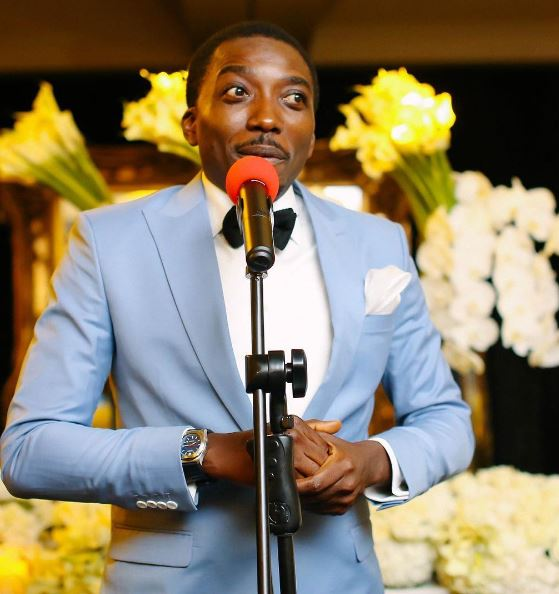 Nigerian actor and comedian, Bovi Ugboma