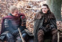 Ed Sheeran and Maisie Williams (Picture: HBO)